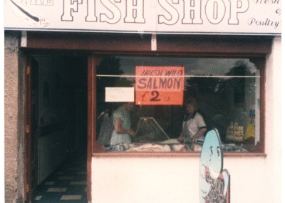 The original George's Fish Shop 1986.