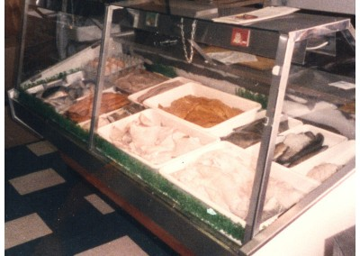 The fish counter in the early days.