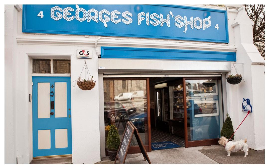 Our shop in Monkstown village